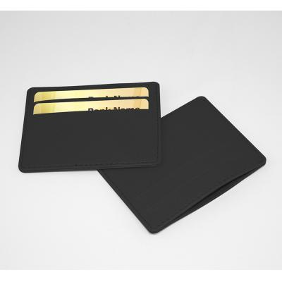 Image of Black Slimline Credit Card Case